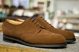 PERFORATED DERBY DOUBLE SOLE